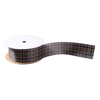 Scottish Borthwick Plaid Tartan Satin Ribbon