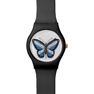 Scottish Butterfly Flag Watch