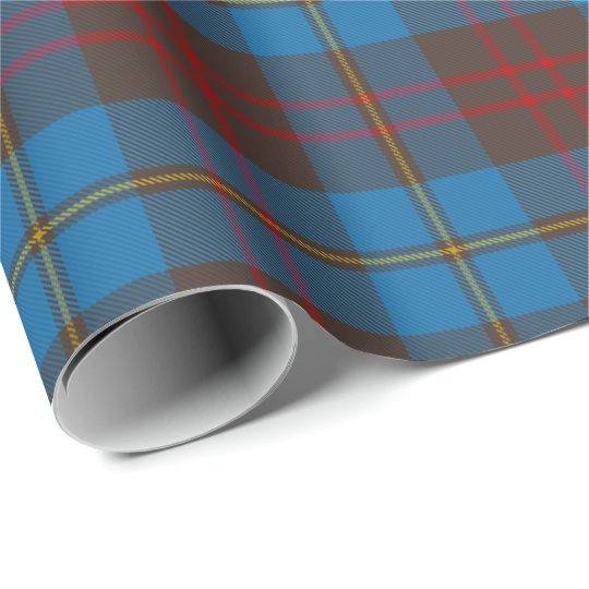 Scottish Cameron Hunting Plaid Tartan Wrapping Paper