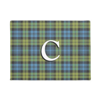 Scottish Campbell Tartan Plaid Doormat