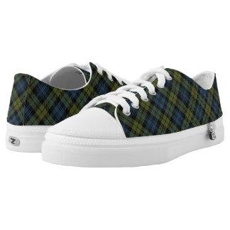 Scottish Campbell Tartan Printed Shoes