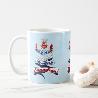 Scottish Canadian Thistle Mug
