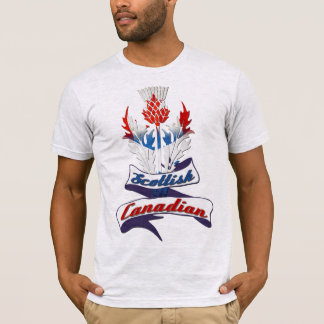 Scottish Canadian Thistle Tee