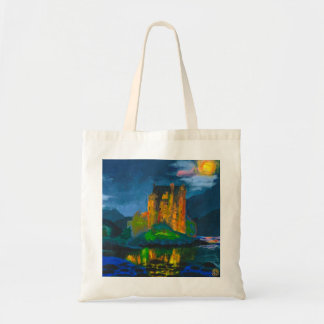 """Scottish Castle"" Tote"