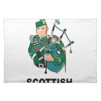 scottish chap placemat