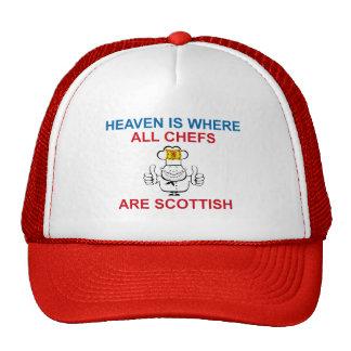Scottish Chefs Hats