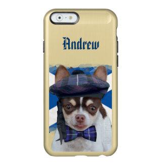 Scottish Chihuahua Dog gold iphone 6 case