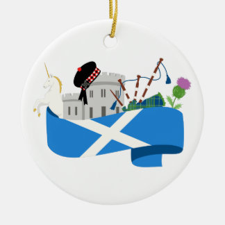 Scottish Christmas Ornament