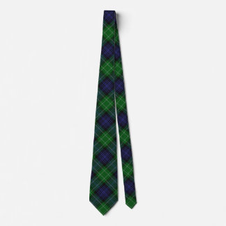 Scottish Clan Abercrombie Tartan Tie