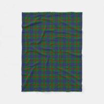 Scottish Clan Agnew Classic Tartan Fleece Blanket
