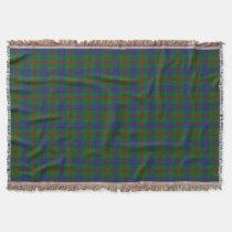Scottish Clan Agnew Tartan Throw Blanket
