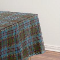 Scottish Clan Anderson Tartan Tablecloth