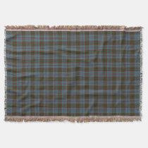 Scottish Clan Anderson Tartan Throw Blanket