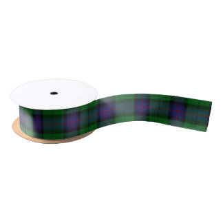 Scottish Clan Armstrong Classic Tartan Satin Ribbon