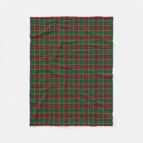 Scottish Clan Baxter Classic Tartan Fleece Blanket