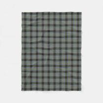 Scottish Clan Bell Classic Tartan Fleece Blanket