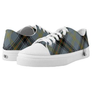 Scottish Clan Bell Tartan Printed Shoes