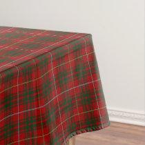 Scottish Clan Bruce Tartan Tablecloth