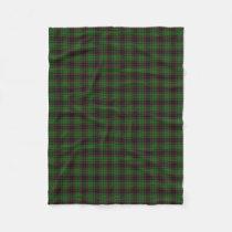 Scottish Clan Buchan Classic Tartan Fleece Blanket