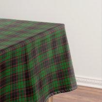 Scottish Clan Buchan Tartan Tablecloth
