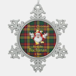 Scottish Clan Buchanan Christmas Ornament