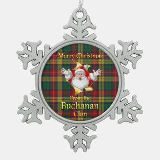 Scottish Clan Buchanan Christmas Ornament
