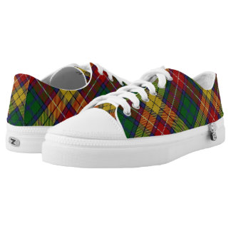 Scottish Clan Buchanan Tartan Low Tops