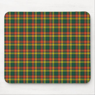 Scottish Clan Buchanan tartan Mouse Mat