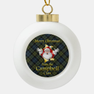 Scottish Clan Campbell Christmas Ornament