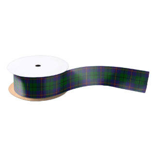 Scottish Clan Carmichael Classic Tartan Satin Ribbon
