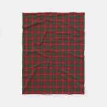 Scottish Clan Chisholm Classic Tartan Fleece Blanket