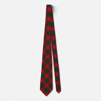 Scottish Clan Chisholm Tartan Tie