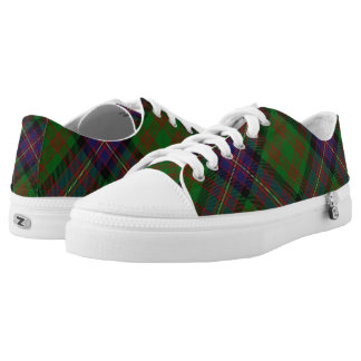 Scottish Clan Cochrane Cochran Tartan Low Tops