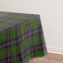 Scottish Clan Cochrane Cochran Tartan Tablecloth