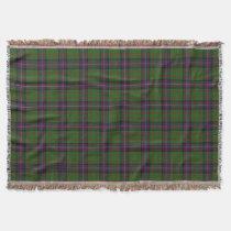 Scottish Clan Cochrane Cochran Tartan Throw Blanket