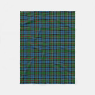Scottish Clan Colquhoun Classic Tartan Fleece Blanket