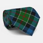 Scottish Clan Colquhoun Letter C Monogram Tartan Tie