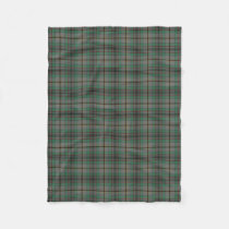 Scottish Clan Craig Classic Tartan Fleece Blanket