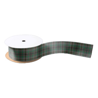 Scottish Clan Craig Classic Tartan Satin Ribbon