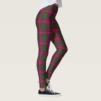 Scottish Clan Crawford Tartan Leggings