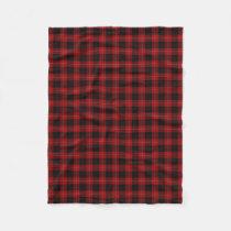 Scottish Clan Cunningham Classic Tartan Fleece Blanket