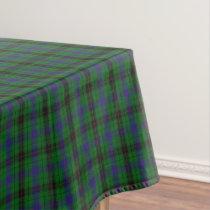 Scottish Clan Davidson Tartan Tablecloth