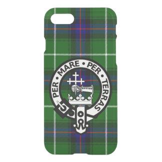 Scottish Clan Donald MacDonald Tartan and Crest iPhone 7 Case
