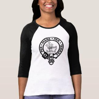 Scottish Clan Donald Tartan and Crest Tshirt
