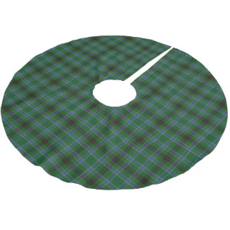 Scottish Clan Duncan Tartan Brushed Polyester Tree Skirt