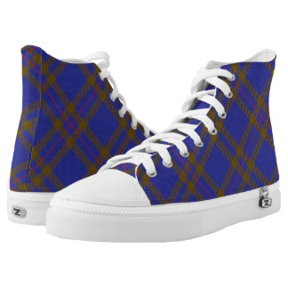 Scottish Clan Elliot Elliott Tartan High Tops