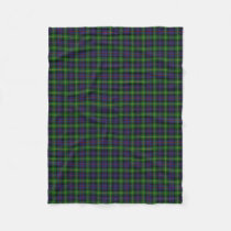 Scottish Clan Farquharson Classic Tartan Fleece Blanket