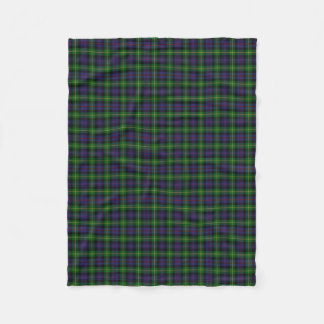 Scottish Clan Farquharson Classic Tartan Fleece Blanket
