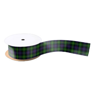 Scottish Clan Farquharson Classic Tartan Satin Ribbon