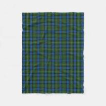 Scottish Clan Fergusson Ferguson Classic Tartan Fleece Blanket